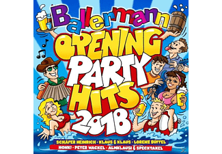 VARIOUS - Ballermann Opening Party Hits 2018 - (CD)