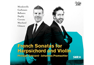 Philippe Grisvard, Johannes Pramsohler - French Sonatas For Harpsichord And Violin - (CD)