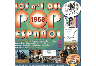VARIOUS - Los N.1 Pop Espanol 1968 - (CD)