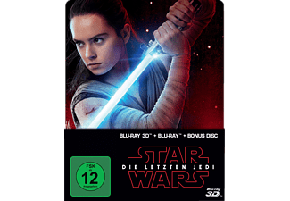 Star Wars: Die letzten Jedi (2D & 3D Steelbook Edition) Limited - (3D Blu-ray (+2D))