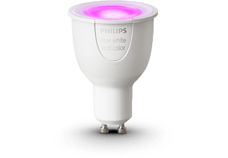 PHILIPS Ledlamp Hue White & Color ambiance GU10