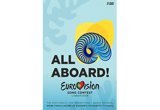 VARIOUS - Eurovision Song Contest-Lisbon 2018 - (DVD)