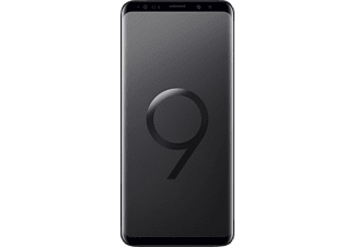 SAMSUNG Galaxy S9+, Smartpohne, 256 GB, 6.08 Zoll, Midnight Black, Dual SIM