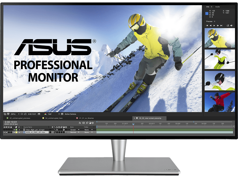 ASUS PA27AC (P) Monitor (5 ms Reaktionszeit, FreeSync, 60 Hz)