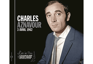 Charles Aznavour - Live In Paris-3 Avril 1962 - (CD)