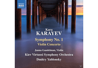 Dmitry/kiev Virtuosi So Yablonsky - Sinfonie 1/Violinkonzert - (CD)