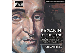 Filipec Goran - Paganini at the Piano - (CD)
