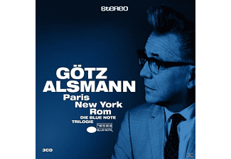 Götz Alsmann - Paris-New York-Rom (Die Blue Note Trilogie) - (CD)