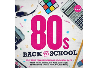 VARIOUS - 80s Back To School - (CD)