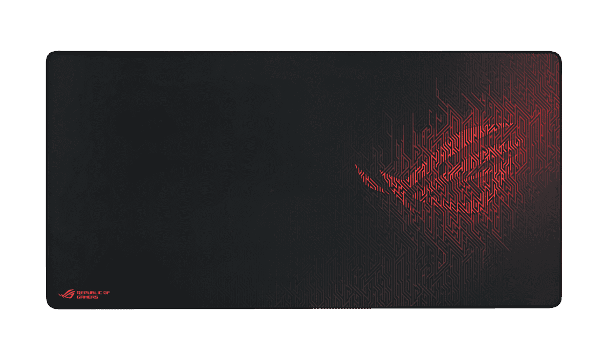 ASUS ROG Sheath Gaming-Mauspad Schwarz/Rot