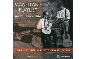 Athens Guitar Duo/Woodruff/Anderson - Magellan's Playlist/On Tour in China - (DVD-Audio Album)