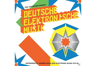 Soul Jazz Records - Deutsche Elektronische Music 1972-83(A):New Editio - (LP + Download)