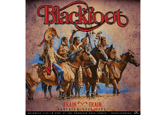 Blackfoot - Train Train-Southern Rock Live! - (Vinyl)