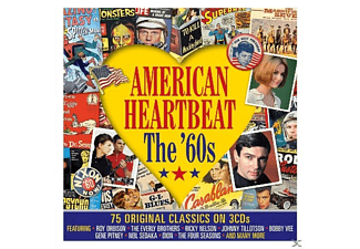 VARIOUS - American Heartbeat-The '60s - (CD)