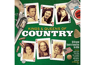 VARIOUS - Kings & Queens Of Country - (CD)