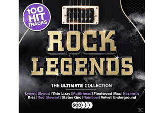 VARIOUS - Rock Legends - (CD)