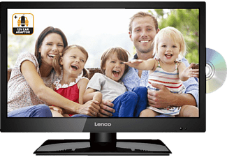 LENCO DVL-1962BK 12V/230V, 47 cm (19 Zoll), HD-ready, LED TV + integriertem DVD-Player, DVB-T2 HD, DVB-C, DVB-S, DVB-S2