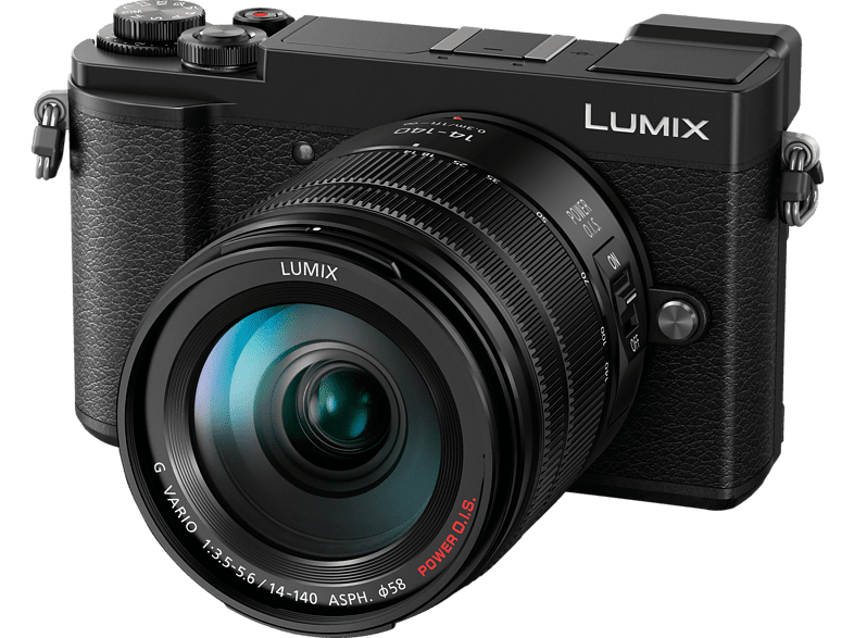 LUMIX GX9 Kit Systemkamera 20.30 Megapixel mit Objektiv 14-140 mm f/5.6, 7.5 cm Display , WLAN