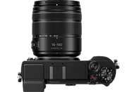PANASONIC LUMIX GX9 Kit Systemkamera 20.30 Megapixel mit Objektiv 14-140 mm , 7.5 cm Display  , WLAN