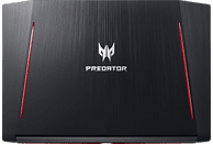 ACER Predator Helios 300 (PH317-52-720Y), Gaming Notebook mit 17.3 Zoll Display, Core™ i7 Prozessor, 16 GB RAM, 512 GB SSD, 2 TB HDD, GeForce® GTX 1050 Ti, Schwarz