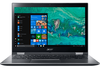 ACER Spin 3 (SP314-51-33RM), Notebook mit 14 Zoll Display, Core™ i3 Prozessor, 8 GB RAM, 256 GB SSD, HD Graphics 620, Steel Gray