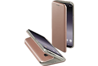 """HAMA Booklet """"Curve"""" , Bookcover, Samsung, Galaxy S9, Polyurethan/Thermoplastisches Polyurethan, Rosegold"""