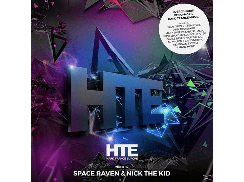Space Raven/Nick The Kid - Hard Trance Europe Vol.1 [CD]