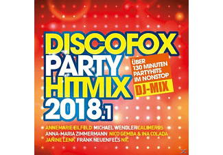 VARIOUS - Discofox Party Hitmix 2018.1 - (CD)