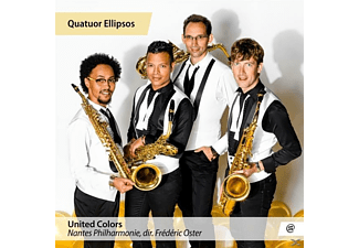 Quatuor Ellipsos, Nantes Philharmonie - United Colors - (CD)
