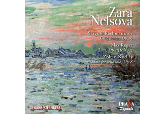 Zara Nelsova Artur Balsam - Cellosonaten - (CD)
