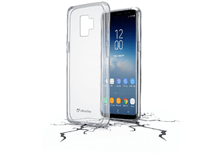 CELLULAR LINE Cellularline CLEAR DUO Backcover ultra-transparent für Samsung Galaxy S9 Handyhülle, Transparent, passend für Samsung Galaxy S9