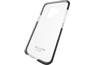 CELLULAR LINE TETRA FORCE Handyhülle, Transparent, passend für Samsung Galaxy S9