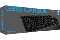 LOGITECH G513 CARBON Mechanische RGB, Gaming Tastatur, Mechanisch, Logitech Romer G Tactile