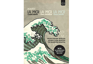 "Lucerne Festival Orchestra, Chicago Symphony Orchestra, The Philadelphia Orchestra - ""La Mer"" Edition - (DVD)"