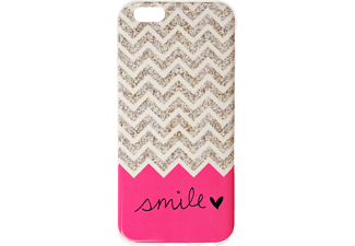 IPROTECT Smile Handyhülle, Rosa, Beige, passend für Apple iPhone 6, iPhone 6s