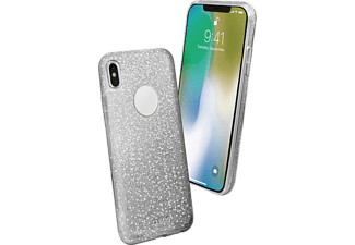 SBS MOBILE Sparky Cover till iPhone X - Silver