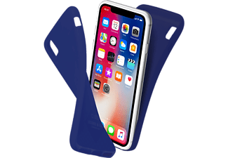 SBS MOBILE Polo Cover till iPhone X - Blå
