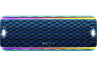 SONY SRS-XB31, Bluetooth Lautsprecher, Near Field Communication, Wasserfest, Blau