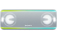 SONY SRS-XB41 Wireless Party Chain Bluetooth Lautsprecher, Weiß, Wasserfest