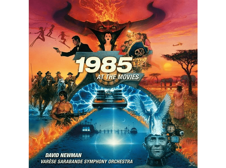 David/varese Sar Symphony Orchestra Newman - 1985 at the Movies [CD]