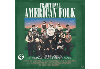 MR.JACK DANIEL S ORIGINAL SILVER CORNET BAND - Traditional American Folk - (CD)