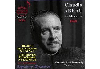 Claudio Arrau (Klavier), SO USSR TV & Radio, Genna - Claudio Arrau In Moscow | Legendary Treasures-Vo - (CD)