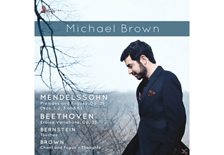 Michael Brown - Preludes And Fugues,op.35 & Eroica Variations,O - (CD)