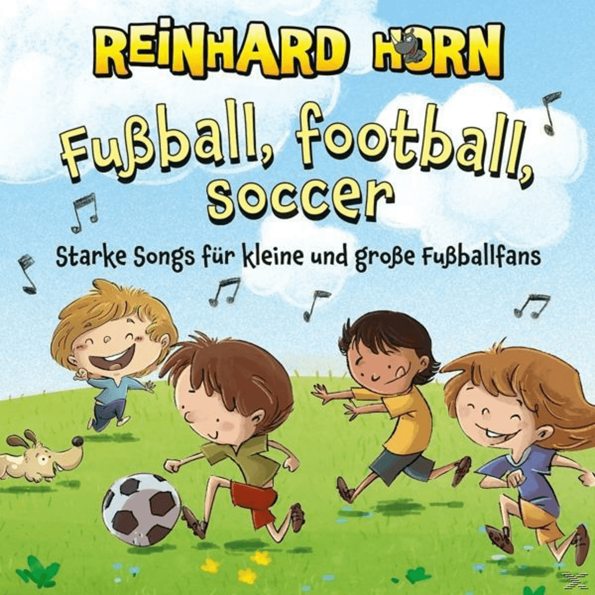 Reinhard Horn - FUSSBALL FOOTBALL SOCCER - (CD)
