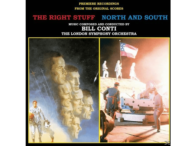 London Symphony Orchestra Bill Conti - The Right Stuff/North and South [CD]