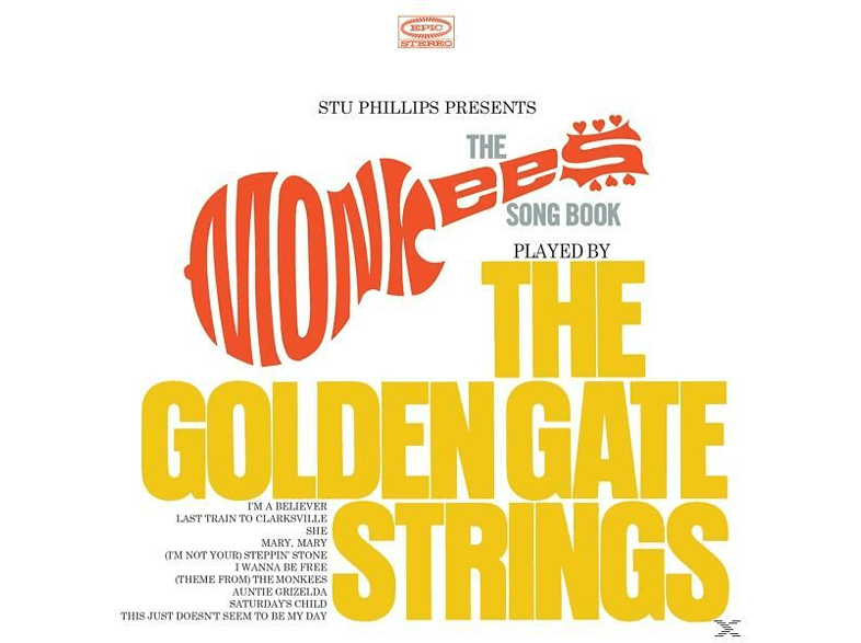 The Golden Gate Strings - The Monkees Songbook [CD]