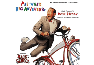 The National Philharmonic Orchestra - Pee-Wee's irre Abenteuer - (CD)