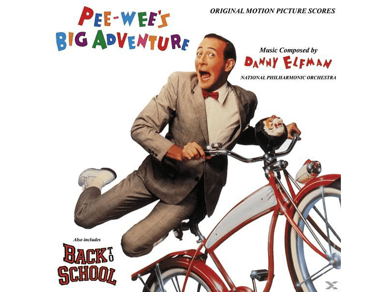 The National Philharmonic Orchestra - Pee-Wee's irre Abenteuer [CD]