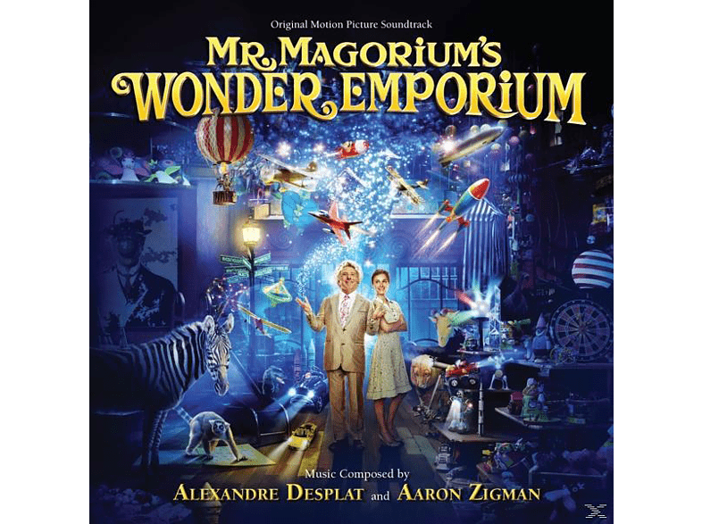 Desplat,Alexandre/Zigman,Aaron - Mr.Magoriums Wunderladen [CD]