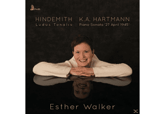 Esther Walker - Ludus Tonalis & Piano Sonata '27 April 1945' - (CD)